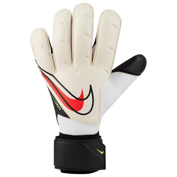 GK ヴェイパー グリップ 3 サッカーフットサルゴールキーパーグローブcn5650-101 未使用品 ホワイト×ブラック NIKE 毎週更新 ナイキ