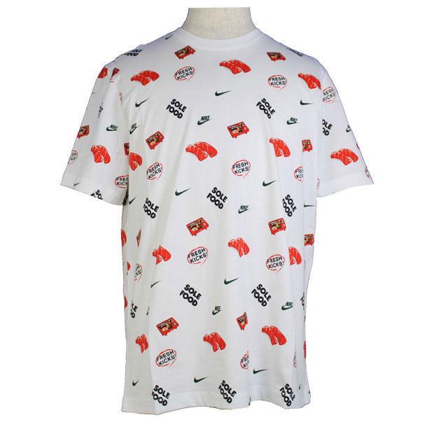 NSW フード AOP お求めやすく価格改定 #4 送料無料 激安 お買い得 キ゛フト 半袖Tシャツ ナイキ ホワイト NIKE サッカーフットサルウェアーdc9186-100