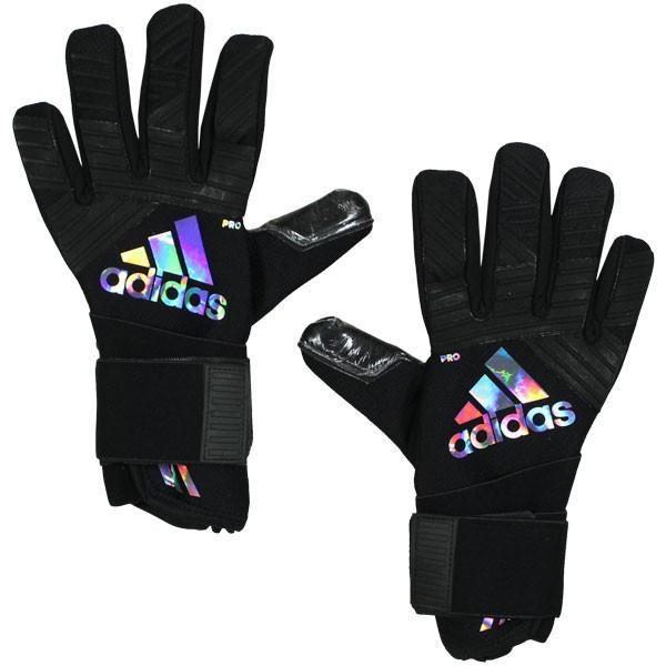 ACE TRANCEプロ マグネティック ST ブラック×ホログラフィック 【adidas|アディダス】サッカーゴールキーパーグローブees60-cd