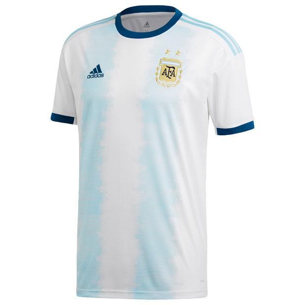 アルゼンチン代表 2019 ホーム 半袖レプリカユニフォーム 【adidas|アディダス】ナショナルチームレプリカウェアーfly61-dn6716