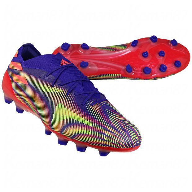 ネメシス.1 ジャパン HG AG サッカースパイクfx9322 年間定番 エナジーインク×シグナルピンク adidas 2020A W新作送料無料 アディダス