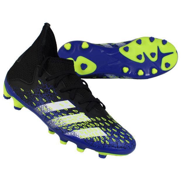 ジュニア プレデター フリーク.3 HG AG SEAL限定商品 adidas サッカージュニアスパイクfy062 直営店 コアブラック×フットウェアホワイト J アディダス