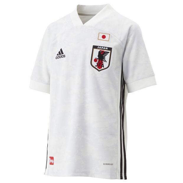 ジュニア KIDS サッカー日本代表 2020 アウェイ レプリカ サッカー日本代表レプリカウェアーg アディダス お買い得 adidas ユニフォーム 通販 半袖