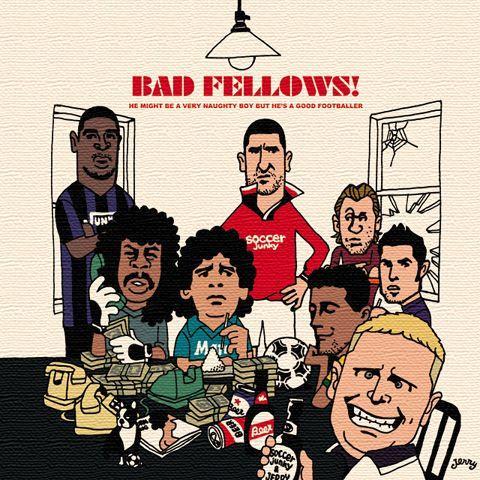 ArtDeli アートパネル BAD BOYS 100サイズ 【SoccerJunky|サッカージャンキー】サッカーフットサルアクセサリーsjpad0