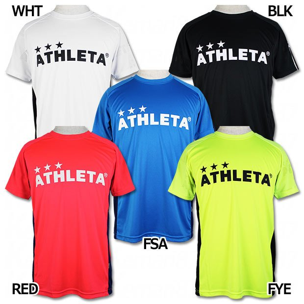 ジャガード半袖プラクティスシャツ 新品 送料無料 ATHLETA サッカーフットサルウェアーsp-199 アスレタ 価格 交渉 送料無料