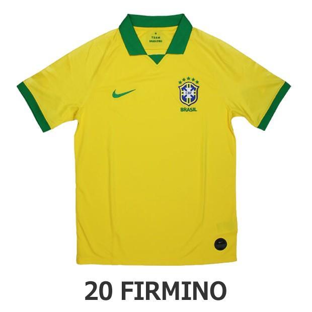 ブラジル代表 2019 ホーム 半袖レプリカユニフォーム 20.フィルミーノ 【NIKE|ナイキ】ナショナルチームレプリカウェアーaj5026-750