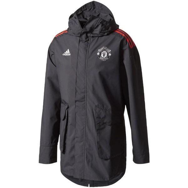 マンチェスターユナイテッド 17-18 UCL オールウェザージャケット 【adidas アディダス】クラブチームウェアーedq89-ce8112