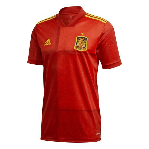 スペイン代表 2020 ホーム 半袖レプリカユニフォーム 【adidas アディダス】ナショナルチームレプリカウェアーkcm79-fr8361