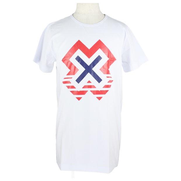 X Tシャツ ホワイト 【THESAINT MAFIA CLUB | ザセイントマフィアクラブ】サッカーフットサルウェアーssb08501