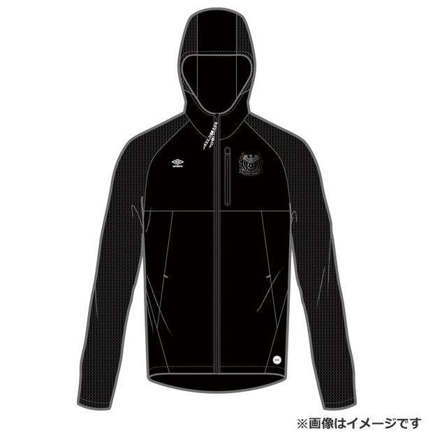 ガンバ大阪 2019 スウェットジップジャケット 【UMBRO|アンブロ】クラブチームウェアーuaunjf20ug-blk
