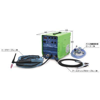 イクラ ライトティグ(インバーター制御直流パルスTIG溶接機)IS-LT200