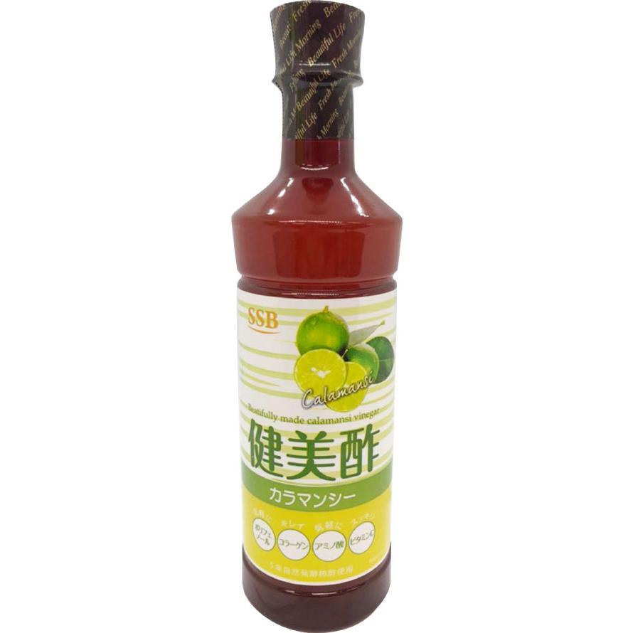 SSB 美酢(ミチョ)  飲むお酢 健美酢 カラマンシー 500ml 1本 健康酢 飲めるお酢 kenbi-choice