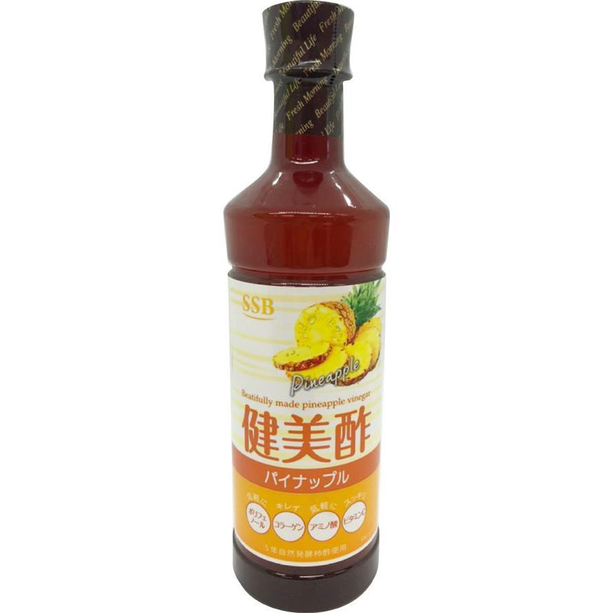 SSB 美酢(ミチョ)  飲むお酢 健美酢 パイナップル 500ml 1本 健康酢 飲めるお酢 kenbi-choice