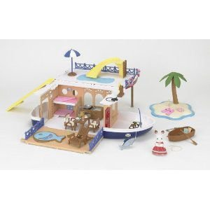 シーサイド村シリーズ 大きな海のクルーズボート M-01 新品シルバニアファミリー ハウス・家具