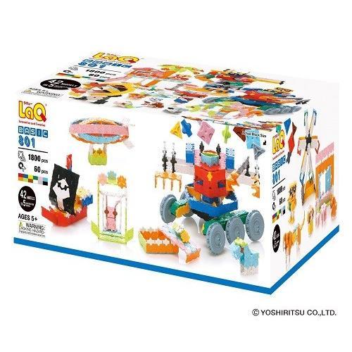 ベーシック 801 新品LaQ ラキュー 知育玩具 ブロック