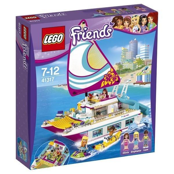 ハートレイク ワクワクオーシャンクルーズ 41317 新品レゴ フレンズ LEGO Friends 知育玩具 (弊社ステッカー付)