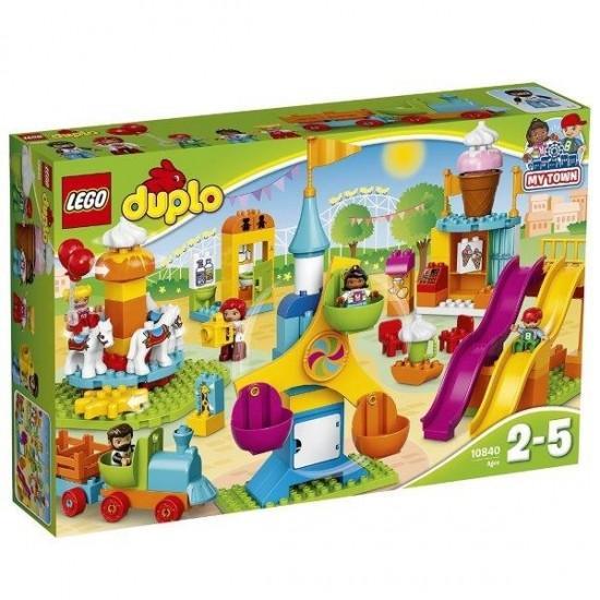 デュプロ(R)のまち おおきな遊園地 10840 新品レゴ デュプロ LEGO 知育玩具 (弊社ステッカー付)