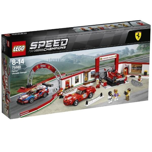 フェラーリ・アルティメット・ガレージ 75889 新品レゴ スピードチャンピオン LEGO 知育玩具 (弊社ステッカー付)