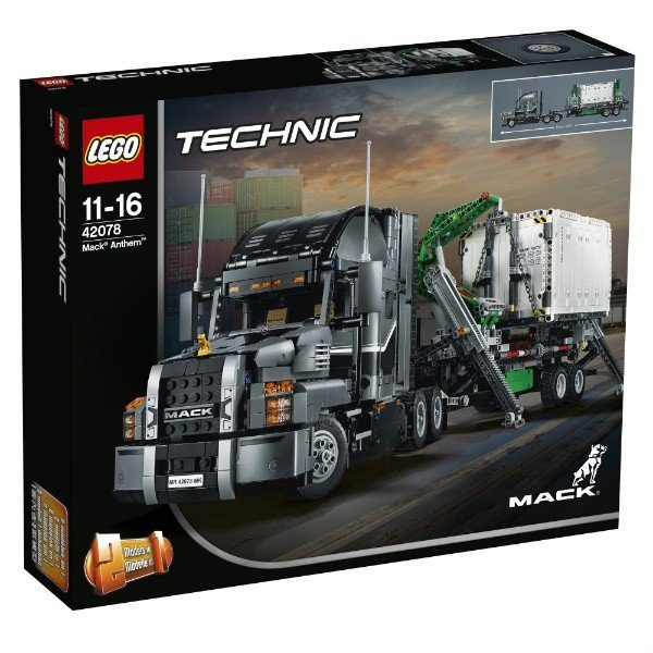 MACK アンセム 42078 新品レゴ テクニック LEGO 知育玩具