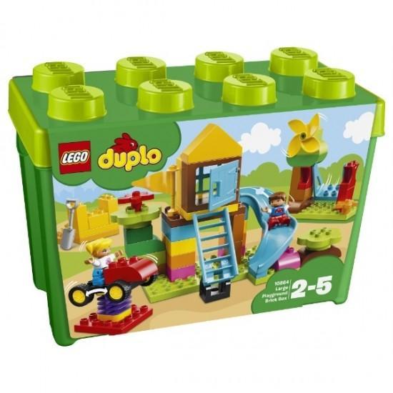 みどりのコンテナスーパーデラックス おおきなこうえん 10864 新品レゴ デュプロ LEGO 知育玩具 (弊社ステッカー付)