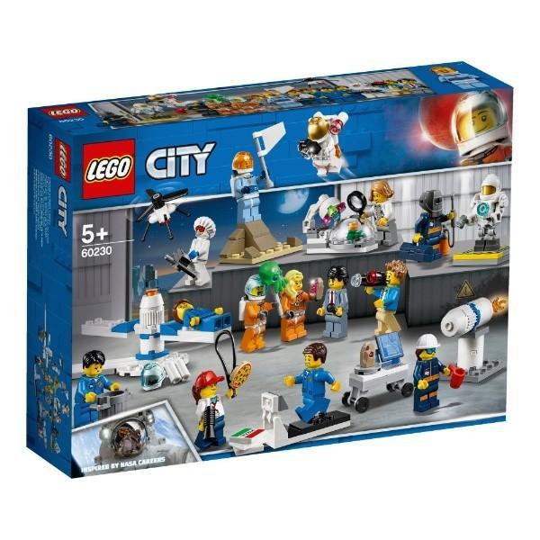 ミニフィグセットー宇宙探査隊と開発者たち 60230 新品レゴ シティ LEGO 知育玩具