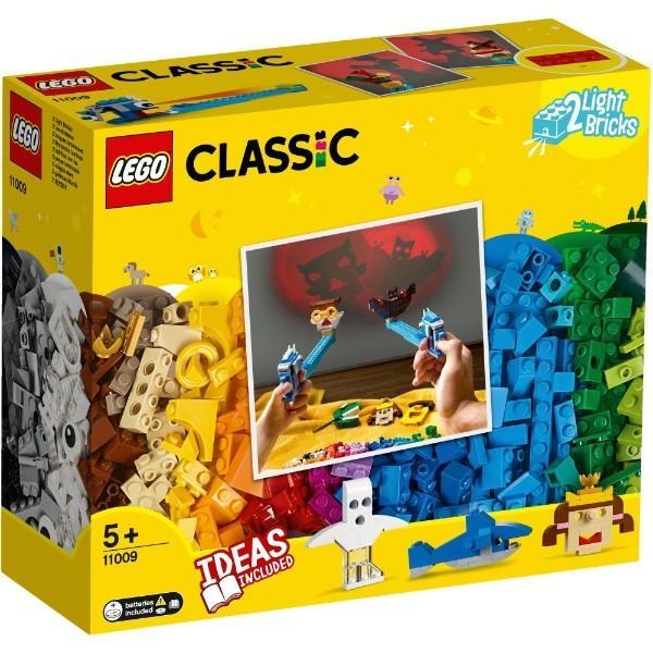 アイデアパーツ ライトセット 11009 新品レゴ クラシック   LEGO CLASSIC 知育玩具 (弊社ステッカー付)|kenbill