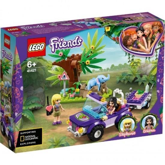 赤ちゃんゾウのジャングルレスキュー 41421 新品レゴ フレンズ   LEGO Friends 知育玩具 (弊社ステッカー付) kenbill