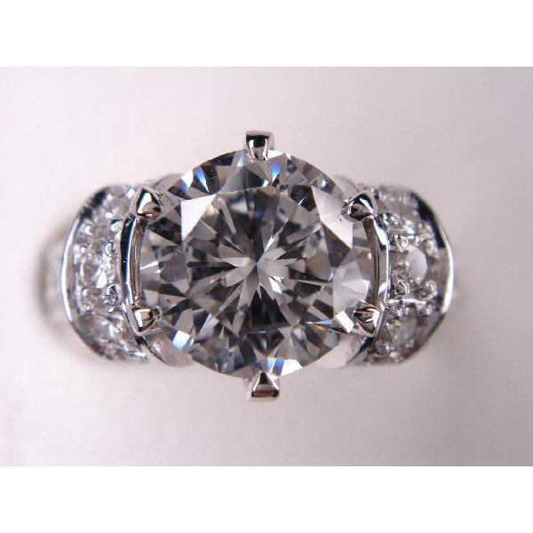 【新品本物】 プラチナ ダイヤモンドリング 婚約指輪 ブライダルリング 結婚指輪 1.27ct, ダテマチ 123a6db8