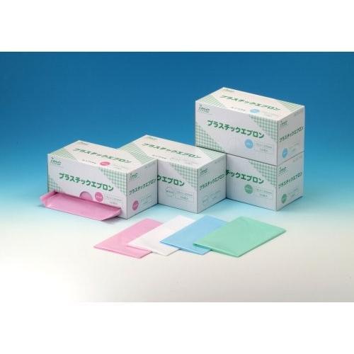 プラスチックエプロン ホワイト 004−41391 特価 100枚 信憑