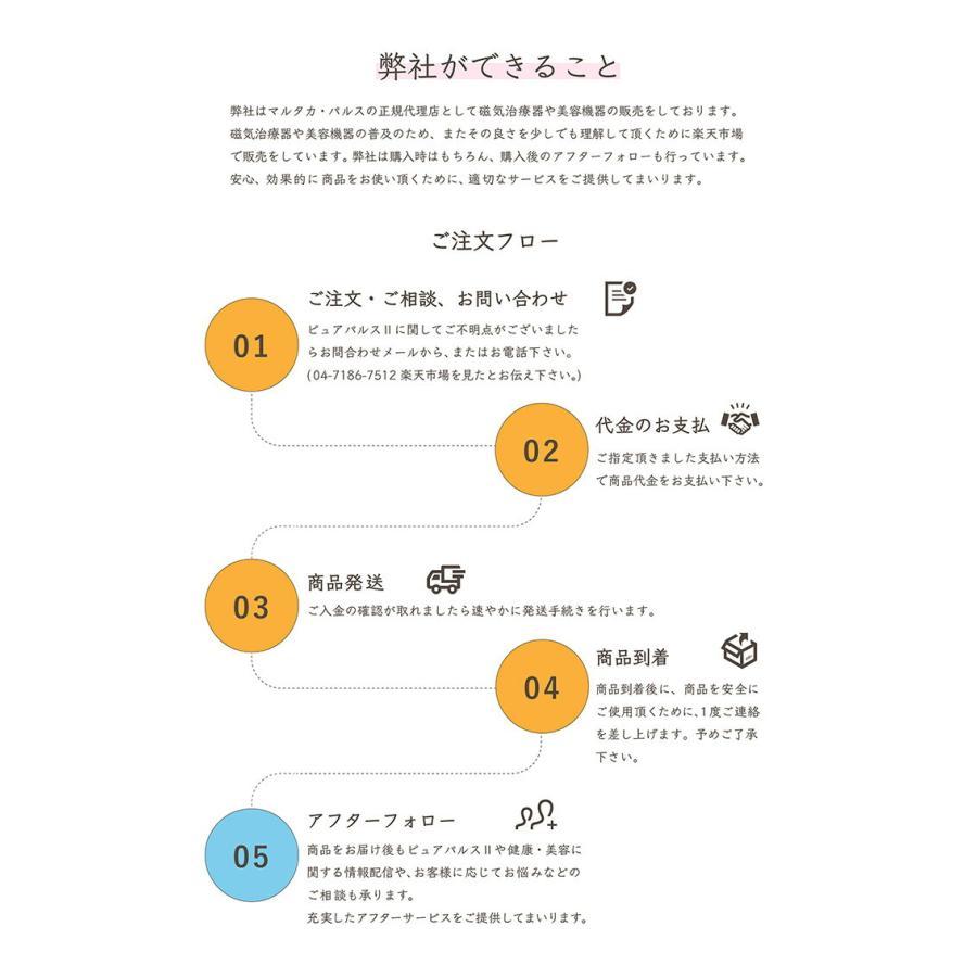 ピュアパルス2 全身トリートメント美容機器 マルタカ・パルス kenkatuya 06