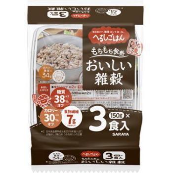 へるしごはん おいしい雑穀 品質検査済 150g×3パック [再販ご予約限定送料無料]