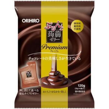 ぷるんと蒟蒻ゼリー プレミアム 20g×6個 贈答品 新品未使用正規品 チョコ