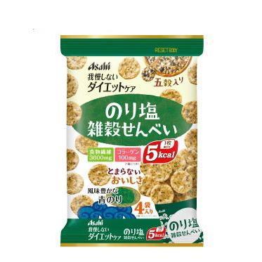 リセットボディ雑穀せんべい のり塩 88g 22g×4袋 正規逆輸入品 ブランド激安セール会場