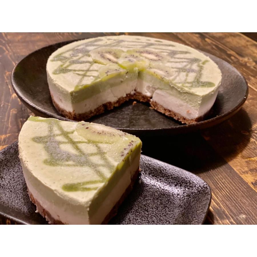 アボカドチョコのアートなケーキ 18cm6号ホール グルテンフリー・砂糖不使用・低糖質・ロースイーツ kenko-factory 02