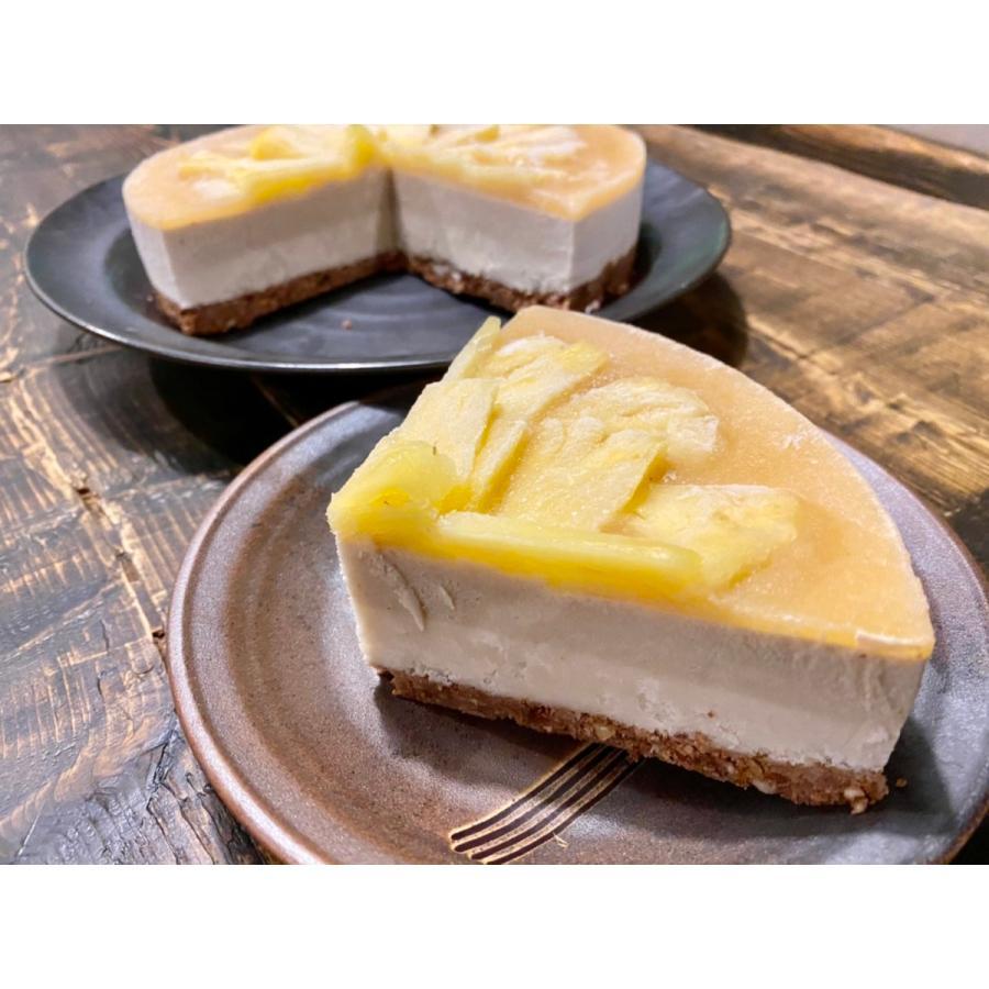 アボカドチョコのアートなケーキ 18cm6号ホール グルテンフリー・砂糖不使用・低糖質・ロースイーツ kenko-factory 03