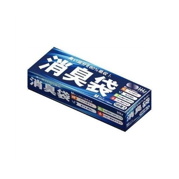 あわせ買い2999円以上で送料無料 ハウスホールドジャパン 消臭袋 人気 100枚入 永遠の定番モデル M AS05