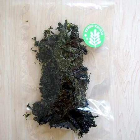 ケンコウかいそうjpの【あおさ 九州産】あおさ本来の風味が豊か乾燥アオサノリです。 kenkou-kaisou 02