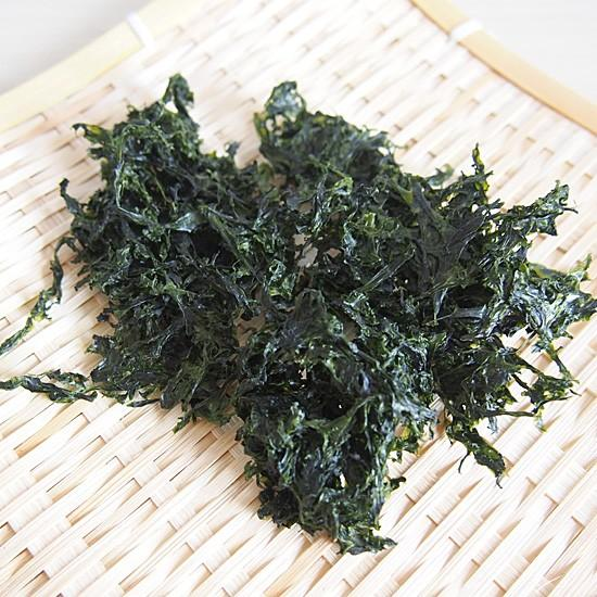 ケンコウかいそうjpの【あおさ 九州産】あおさ本来の風味が豊か乾燥アオサノリです。 kenkou-kaisou 04