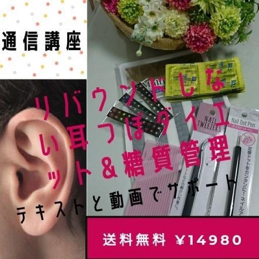 50代からのリバウンドしない 耳つぼダイエット&糖質管理 通信講座|kenkou-mimitsubo|02