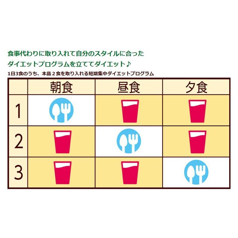 ダイエットシェイク 置き換えダイエット ダイエット食品 送料無料 短期スタイル ダイエットシェイク 25g×10袋 3箱セット 30食分 井藤漢方製薬 kenkou-otetsudai 04