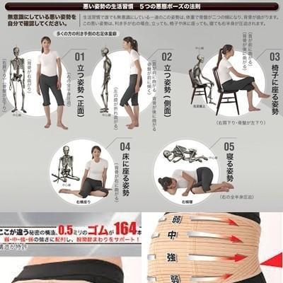 腰痛ベルト 骨盤バンド バランサーバンド ナカイ |kenkoudou|02