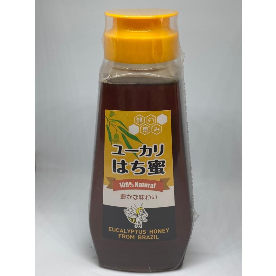 ユーカリはちみつ サンフローラ 100%天然ブラジル産 300gボトル|kenkoudou|02