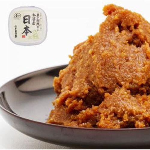 【有機JAS認定】有機みそ日本 (600g) 【マルカワみそ】※キャンセル不可 kenkousupport