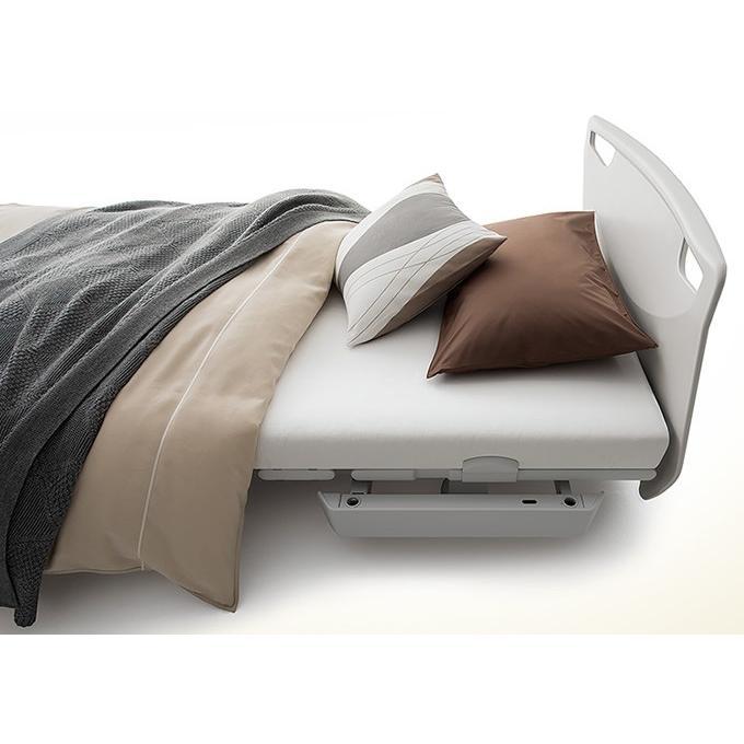 介護ベッド パラマウントベッド レント サンドホワイト 3モーター 選べるマットレス サイドレール メーキング3点セット KQ-68333 KQ-68313 KQ-68323 KQ-68303|kenkul|09