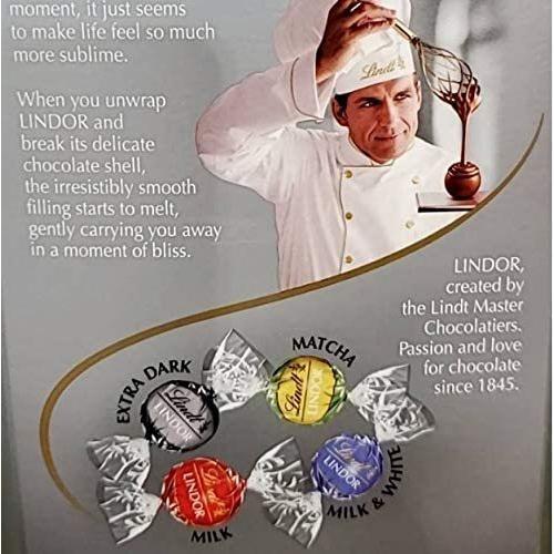 リンツ リンドール シルバーアソート チョコレート 600グラム エクストラダーク,マッチャ,ミルク,ミルク&ホワイトの4種類アソート|kensaposhop|02