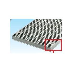 グレーチング一般側溝用ボルト固定 細目ノンスリップ 本体寸法450×995×38mm 形式記号WZS-X(F)45‐538グレーチング本体・受枠セット