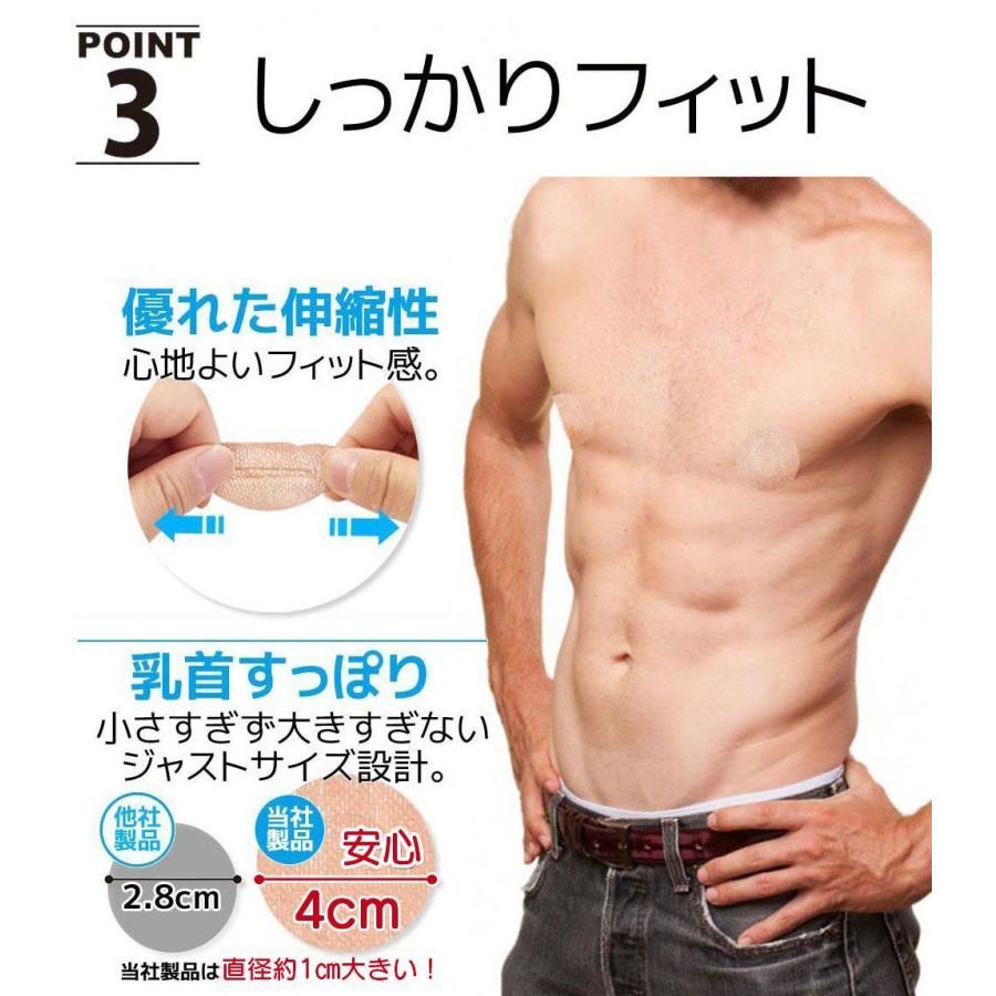 用 ニップレス 男性 マラソンを走る時の乳首の擦れ対策にメンズニップレスシールを貼るのがオススメ KENGOG(ケンゴグ)