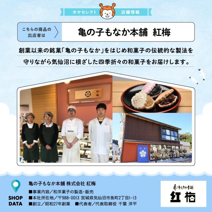 安波栗10個入り 和菓子 マロンパイ 栗 気仙沼 お菓子 個包装 ギフト(紅梅) kesennu-market 07