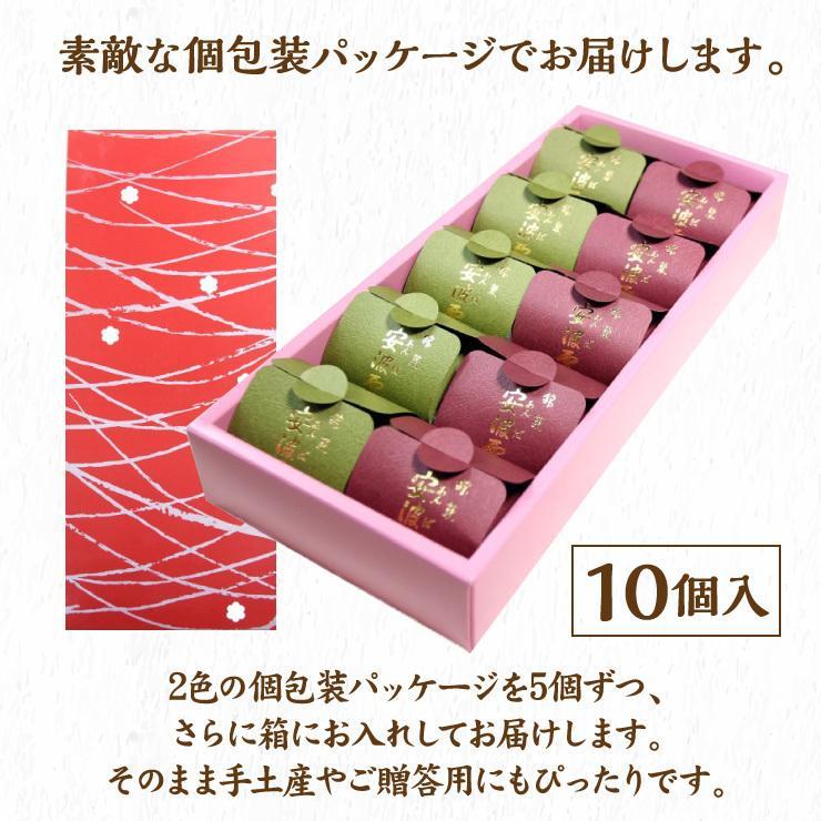 安波栗10個入り 和菓子 マロンパイ 栗 気仙沼 お菓子 個包装 ギフト(紅梅) kesennu-market 06