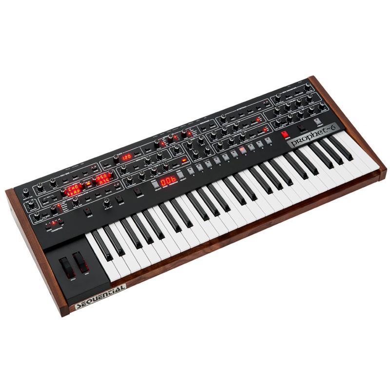 【Decksaver製専用カバー付】SEQUENTIAL (Dave Smith Instruments) Prophet-6